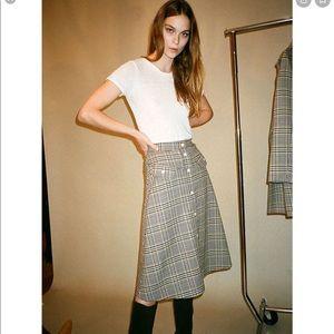 No. 6 plaid skirt